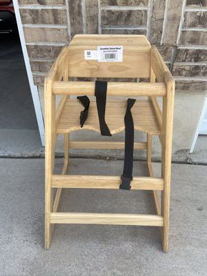 Wooden high chair for Sale in Kaysville, UT