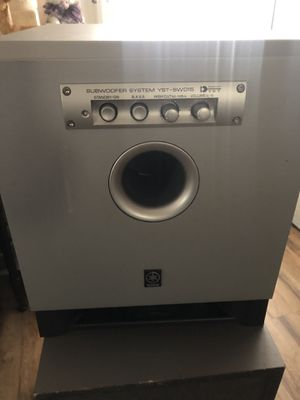 Yamaha subwoofer for Sale in Rancho Cordova, CA