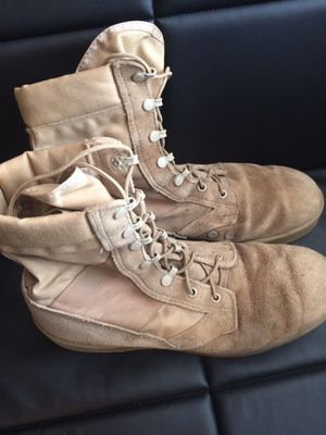 Men's Size 11 Regular U.S. Army boots. for Sale in Severn, MD