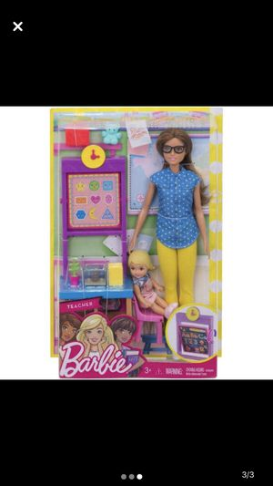 Barbie Careers Teacher Doll & Student Doll Classroom Play-set (Missing Parts) for Sale in Casa Grande, AZ