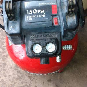 Porter Cable (6gal) 150 Psi for Sale in Lexington, SC
