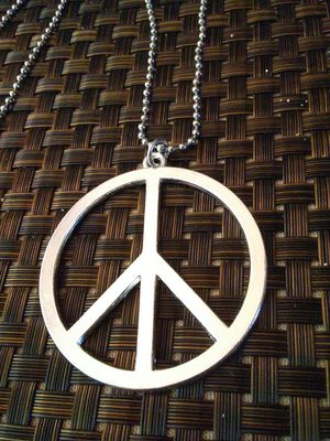 LARGE Peace Sign Necklace NEW!! for Sale in Columbus, OH