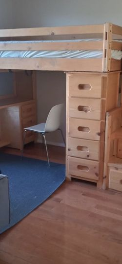 Bunk Bed Wood Perfect Condition. Asking Price $500. Make An Offer for Sale in Beaverton,  OR