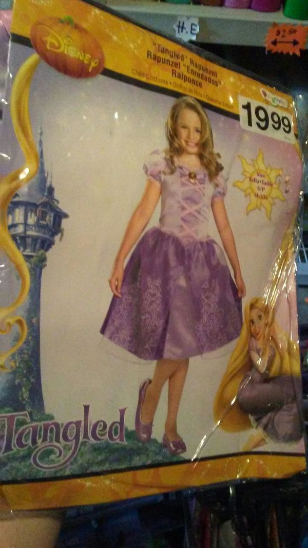 Tangled rapunzel Halloween costume
