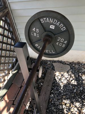Weights and bench for sale for Sale in Glastonbury, CT