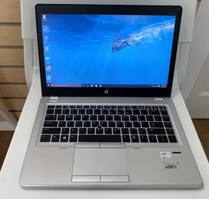 HP Laptop Elitebook Folio 9470m core i5 8GB RAM 256GB SSD for Sale in Renton, WA