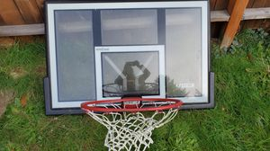LifeTime shatterproof basketball hoop. No stand. for Sale in Puyallup, WA