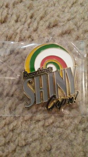 """Firefly """"Everything's Shiny"""" pin for Sale in Westerville, OH"""