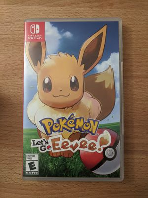 Nintendo Switch Pokemon Let's Go Eevee for Sale in La Habra Heights, CA