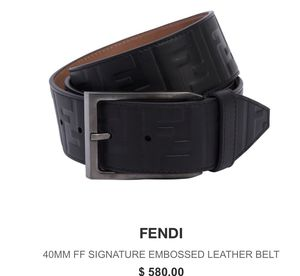 Mens fendi belt for Sale in Marietta, GA