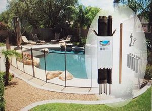 Pool Fence DIY by Life Saver Fencing Section Kit 4 ft. H x 12 ft. for Sale in Henderson, NV