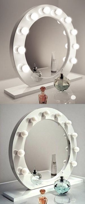 """New $220 White 28"""" Vanity Mirror w/ 10 Dimmable LED Light Bulbs, Hollywood Beauty Makeup USB Outlet for Sale in Montebello, CA"""