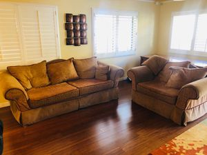 Oversized Sofa & Chair! for Sale in Rancho Cucamonga, CA