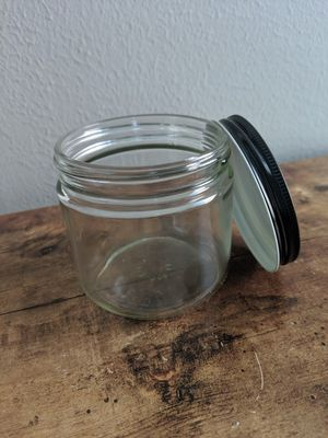 Jars with lids (12).. canning, candles, crafts, storage, makeup, lotion, etc for Sale in Humble, TX