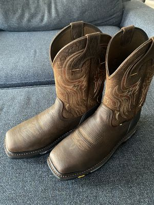 Justin's work boots for Sale in Selma, CA