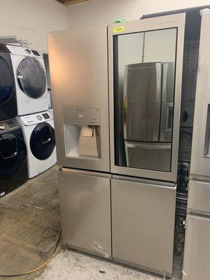 Lg signature counter depth refrigerator for Sale in Orange, CA