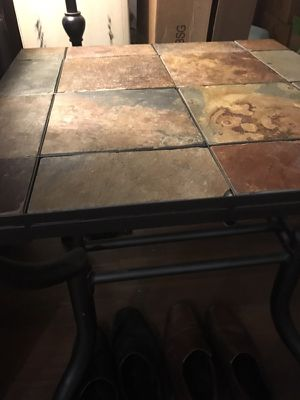 Slate end table for Sale in Chicago, IL