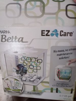Betta tank and heater for Sale in Evansville, IN