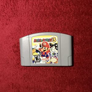 Mario Party 3 Nintendo 64 for Sale in Old Lyme, CT