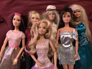 6 Fashion Barbie Dolls Lot 7 for Sale in San Leandro, CA
