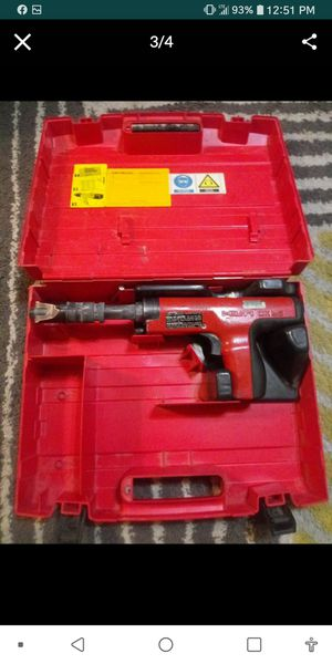 Hilti Dx35 Powder Actuated Nail Gun for Sale in Troy, IL