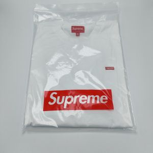 Supreme Small Box Logo Long Sleeve Tee White FW20 for Sale in Las Vegas, NV