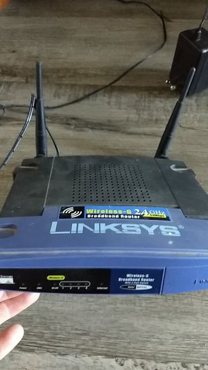 Link sys router for Sale in Tempe, AZ