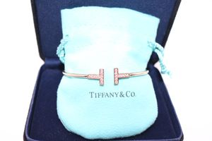 Tiffany Co T bracelet with diamonds for Sale in Brooklyn, NY