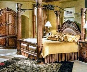 Queen Michael Amini bedroom set for Sale in Overland Park, KS