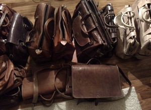 Assorted Leather Goods for Sale in Indianapolis, IN