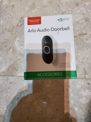 Arlo Audio doorbell for Sale in Tacoma, WA