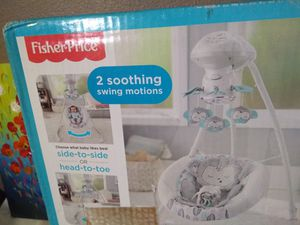 New fisher-price snugamonkey cradle n swing side-to-side or head-to-toe for Sale in Anaheim, CA