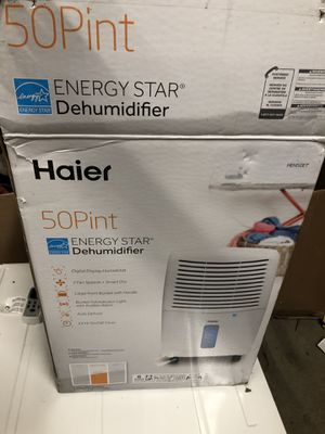 Haier 50pint Dehumidifier for Sale in Columbus, OH