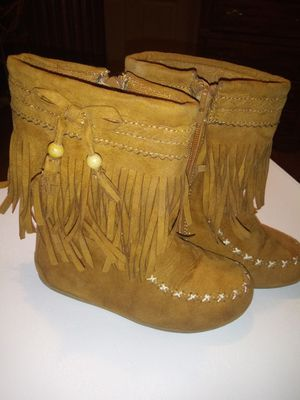 Girl/Toddler Boots Size 9M for Sale in Mercedes, TX
