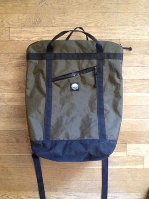 Flowfold Denizen Limited 18L Tote Backpack - Olive - Made in USA for Sale in Evergreen, CO