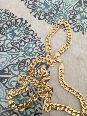 """24"""" gold plated chain for Sale in Oceanside, CA"""