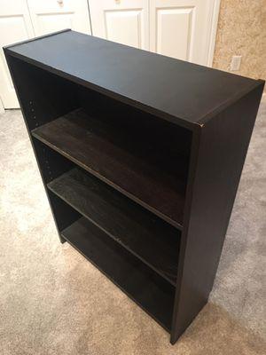 Dark Brown Storage Shelf w/ Adjustable Shelf for Sale in Shakopee, MN