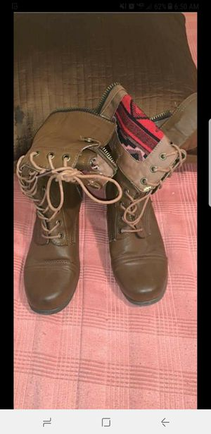 Womens combat boots for Sale in Nashville, TN