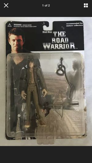 GYRO CAPTAIN MAD MAX THE ROAD WARRIOR 6 INCH FIGURE N2 TOYS SERIES ONE 2000 for Sale in Beaverton, OR
