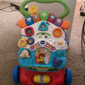 V Tech stroll Baby Walker for Sale in Moreno Valley, CA