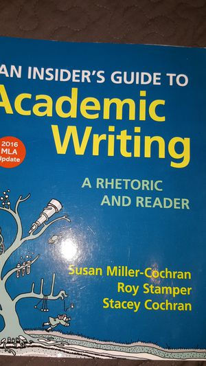 Textbook (Academic Writing) for Sale in Sanger, CA