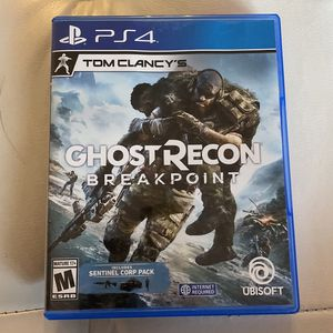 Ghost Recon - Breakpoint For PS4 for Sale in Miami, FL