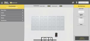 Wayne Dalton model 9100 garage door for Sale in Imperial, PA