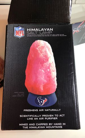 Texan Himalayan salt lamp (new) for Sale in Houston, TX