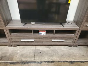 Galaxy TV Stand up to 70in TVs, Distressed Grey for Sale in Westminster, CA