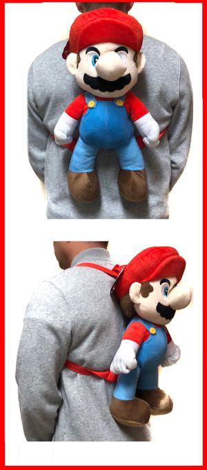 NEW! Novelty Super Mario Bros Backpack, Luigi Yoshi mario Kart Mario party kids bag Nintendo switch wii for Sale in Carson, CA