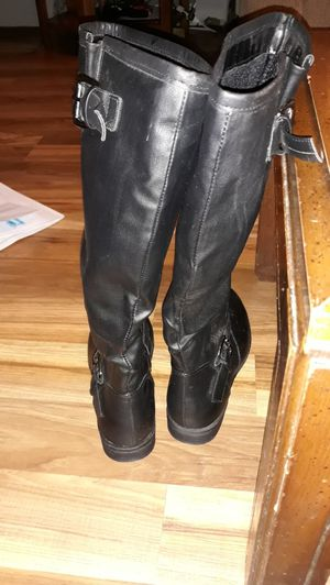 Girls Black leather boots for Sale in Murfreesboro, TN