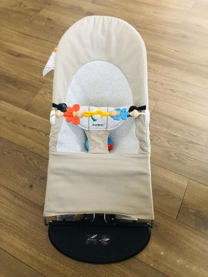 BABYBJORN bouncer with toys for Sale in Lynnwood, WA