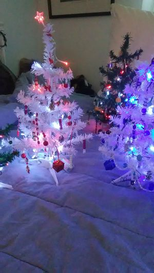 Hand beaded,hand crafted Christmas trees for Sale in Lombard, IL