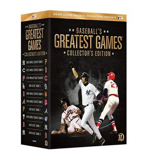 Baseball's greatest games, 11 disc DVD set, NEW for Sale in Pittsburgh, PA
